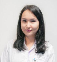 Национальный научный медицинский центр, Врач-гепатолог - Досжан Айнур Дүкенбайқызы