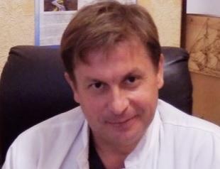 Минский городской клинический онкологический диспансер, Заведующий отделением опухолей головы и шеи - Писаренко Артур Михайлович