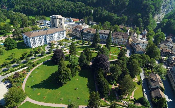 Медицинский центр Grand Resort Bad Ragaz, Швейцария, Бад-Рагац - вид 1