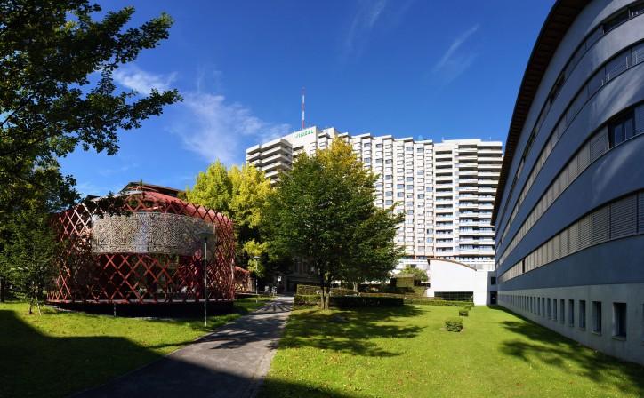 Университетская клиника Инзельшпиталь, Швейцария, Берн - вид 1